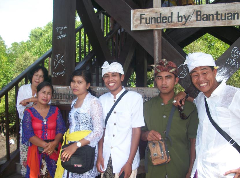 Daya tarik wisata buatan, Hutan mangrove Bali