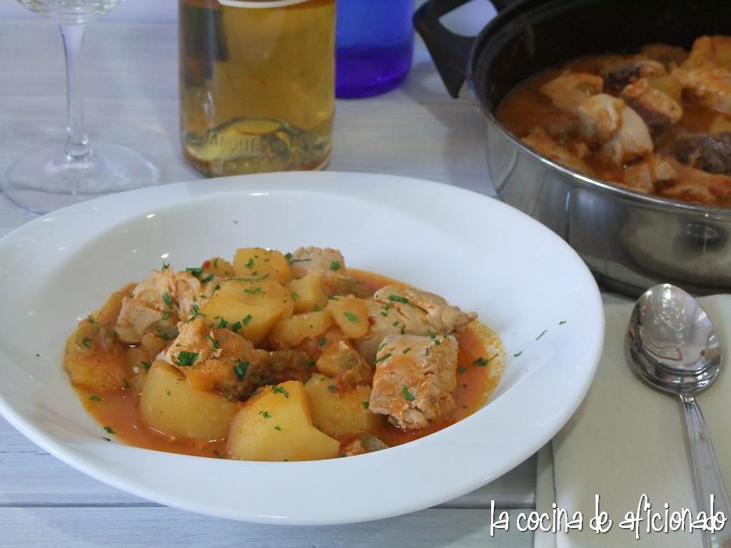 la cocina de aficionado marmitako