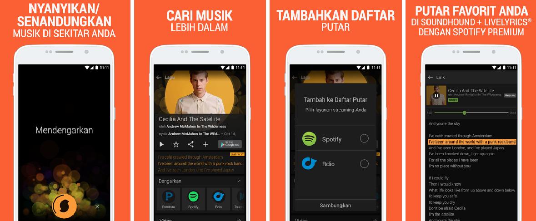 2 aplikasi pemutar musik android terbaik beserta liriknya