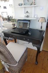 Mitt gamla skrivbord är på plats !