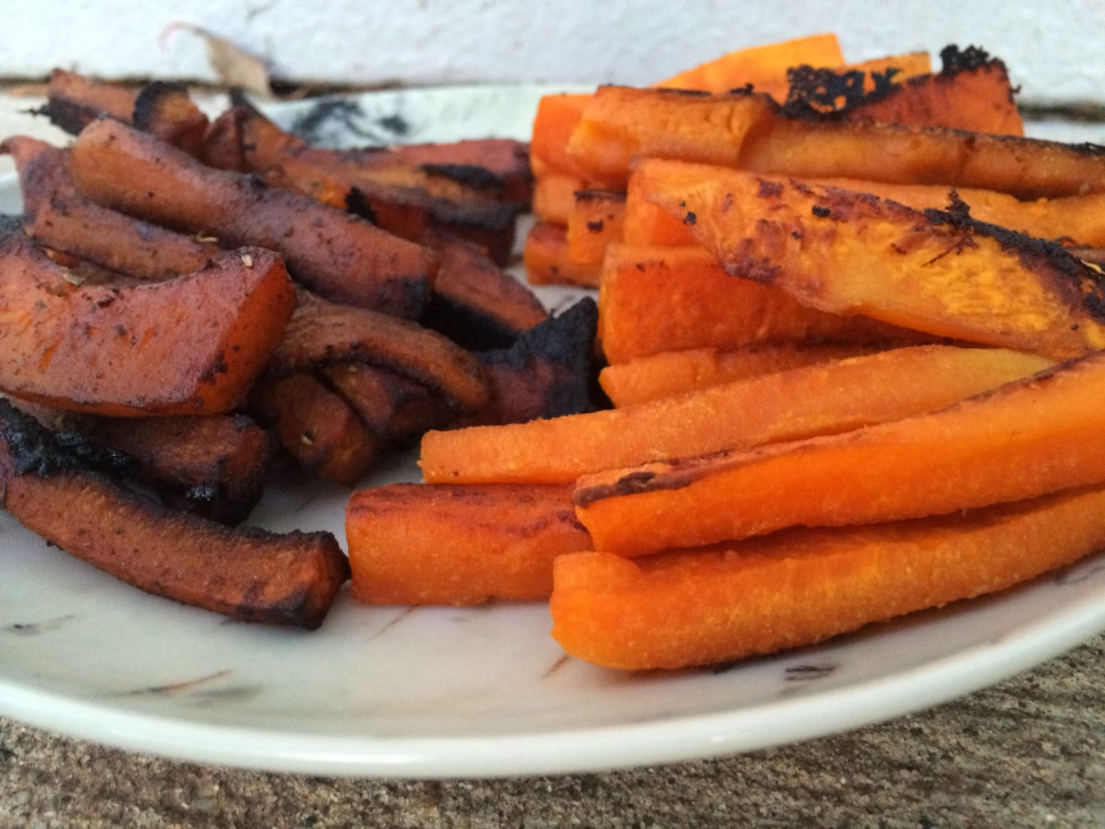 Clean Eating Vinaigrette Glazed Butternut Squash Fries