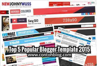 Top 5 Template Blog SEO Friendly Terpopuler 2015