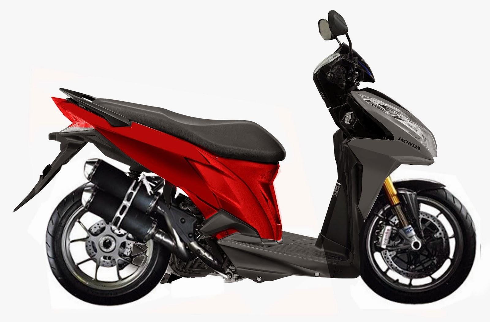 Honda Vario Techno 125 Spesifikasi Harga Dan Modifikasi   Review
