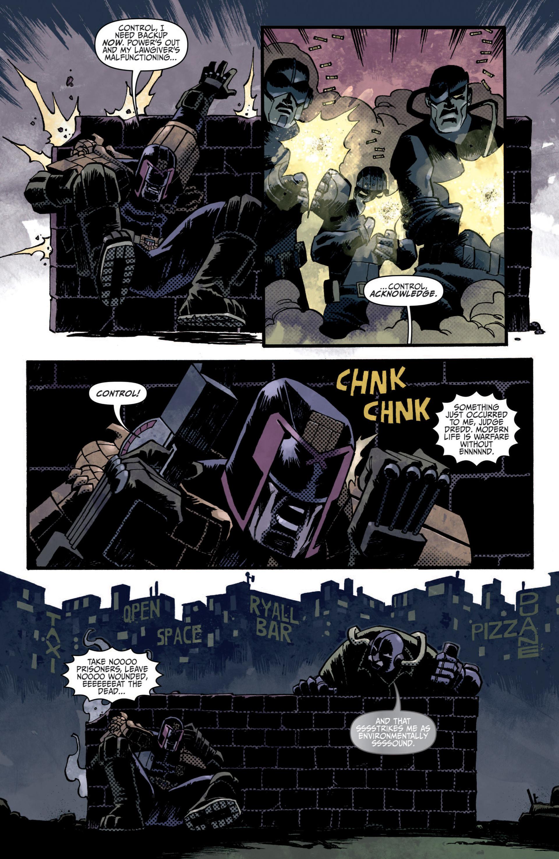 Read online Judge Dredd (2012) comic -  Issue #5 - 13