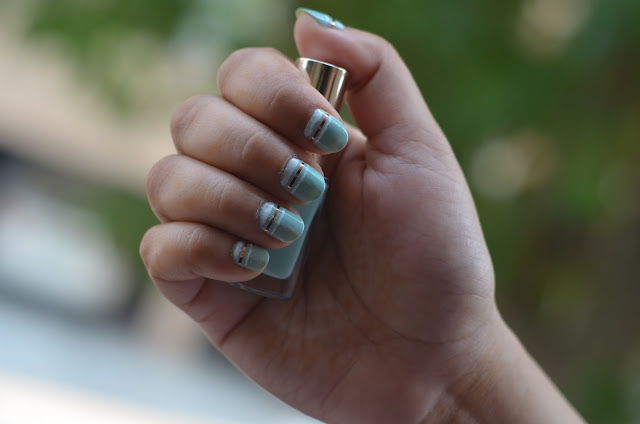 Loreal india color riche Le vernis nail polish art swatch