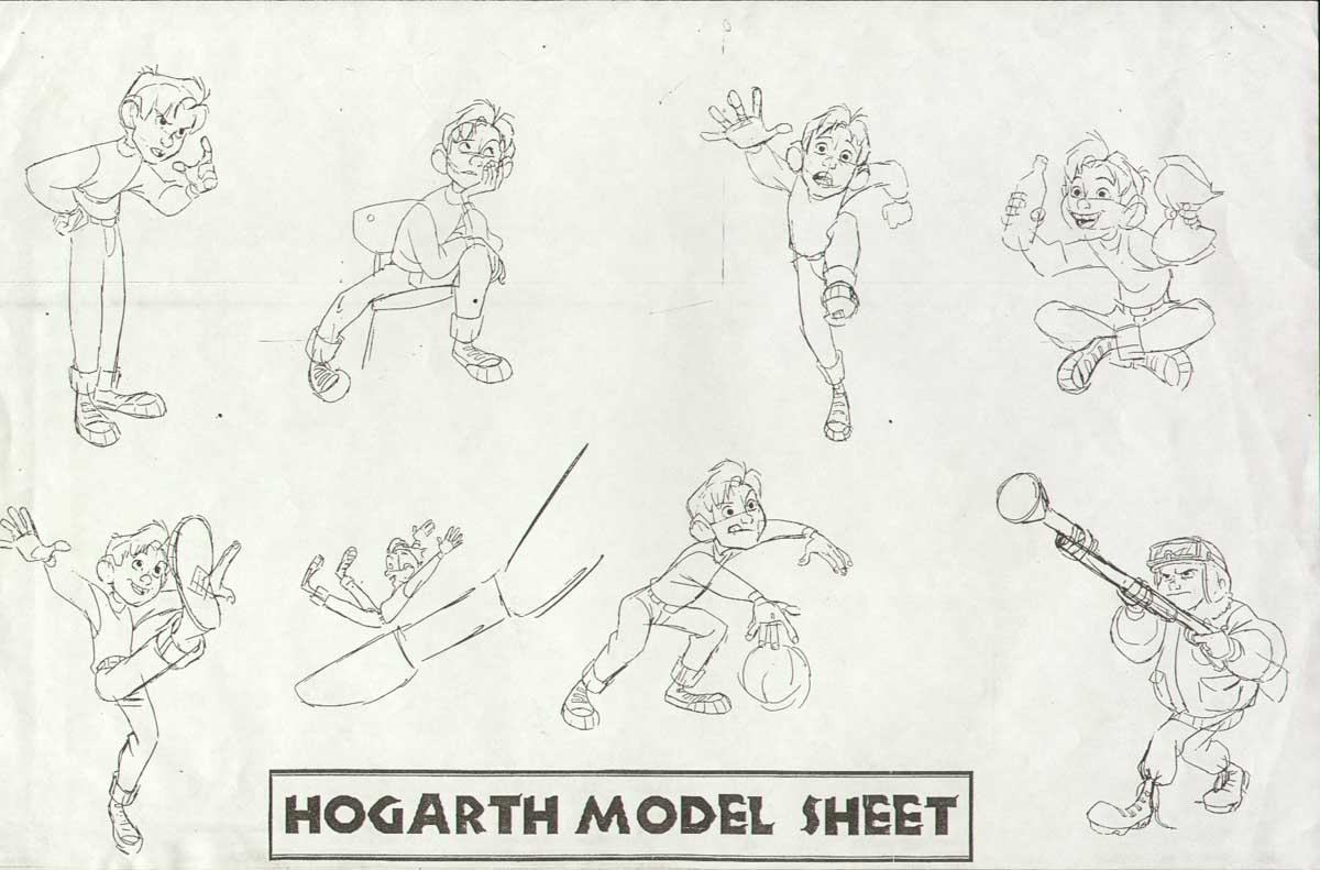 Iron Giant Characters Iron Giant Character Design