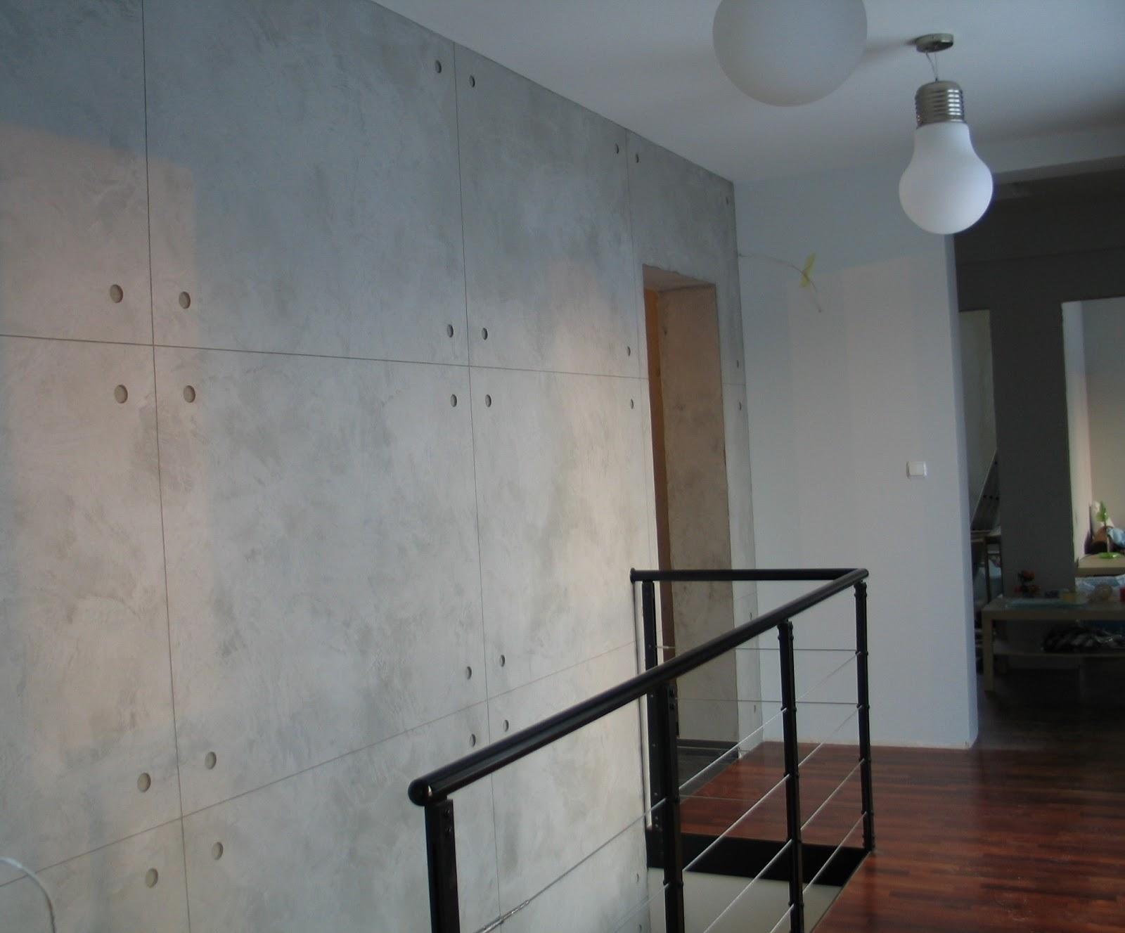 Art malarz beton architektoniczny na klatce schodowej w - Beton architektoniczny ...
