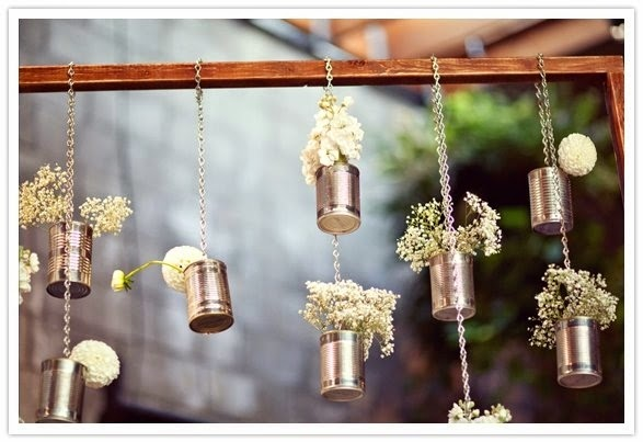 Transform Empty Backyard : 35 unique ideas to transform empty tins into wonderful pots!  Do it