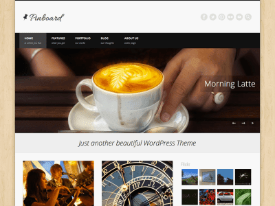 Pinboard WordPress Theme