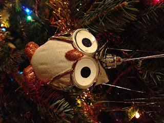 Target Owl Ornament