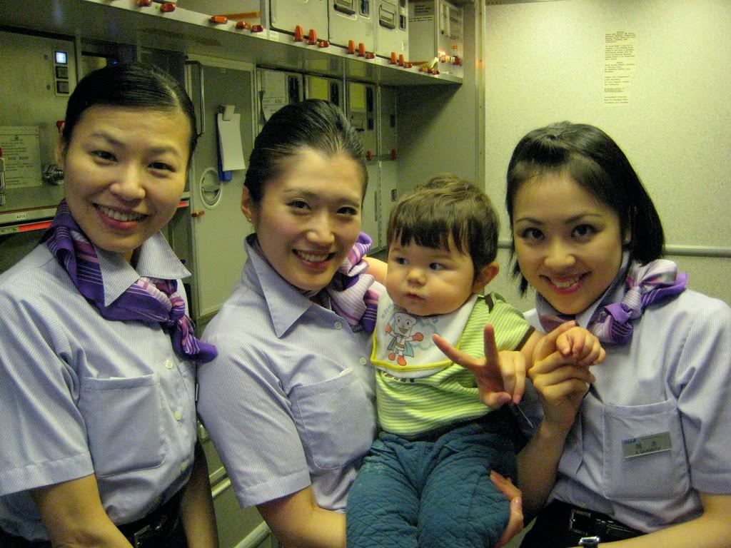 Ana cabin crew service