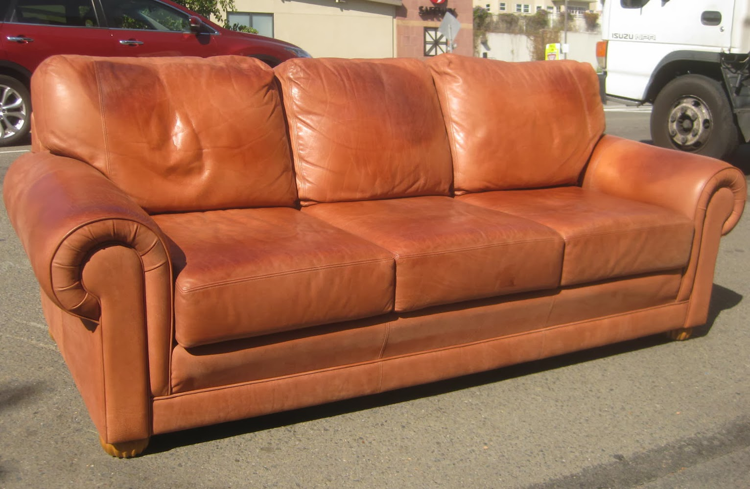 Soft Leather Sofa New Or Black Modern Soft Leather Sectional