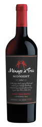 Bottle of Menage A Trois Midnight red blend