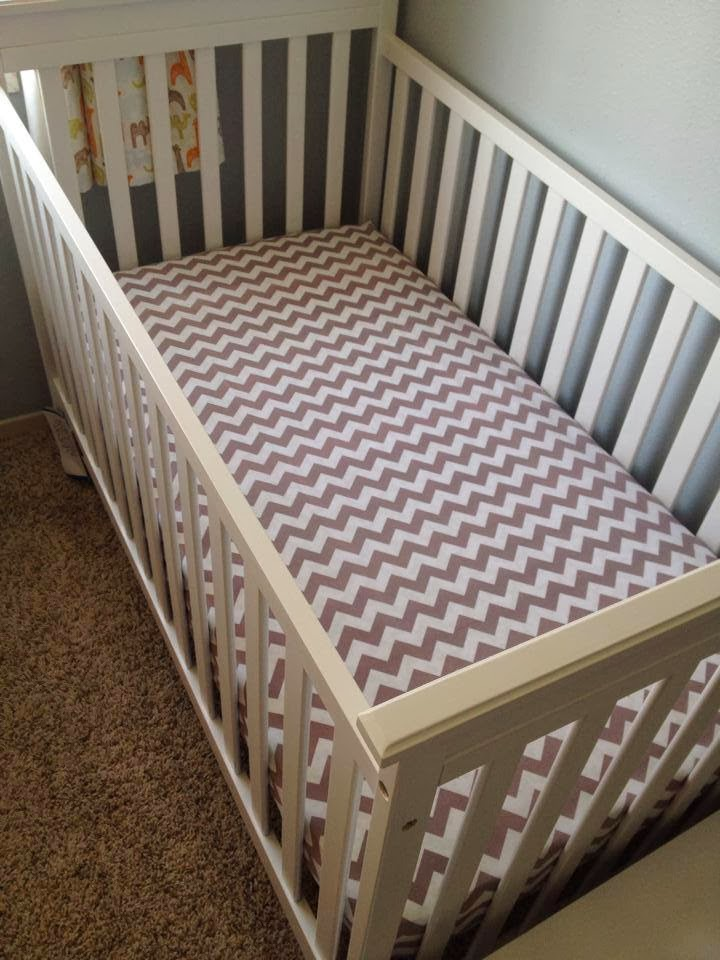 Naturally Creative Mama Nesting Series Crib Sheet
