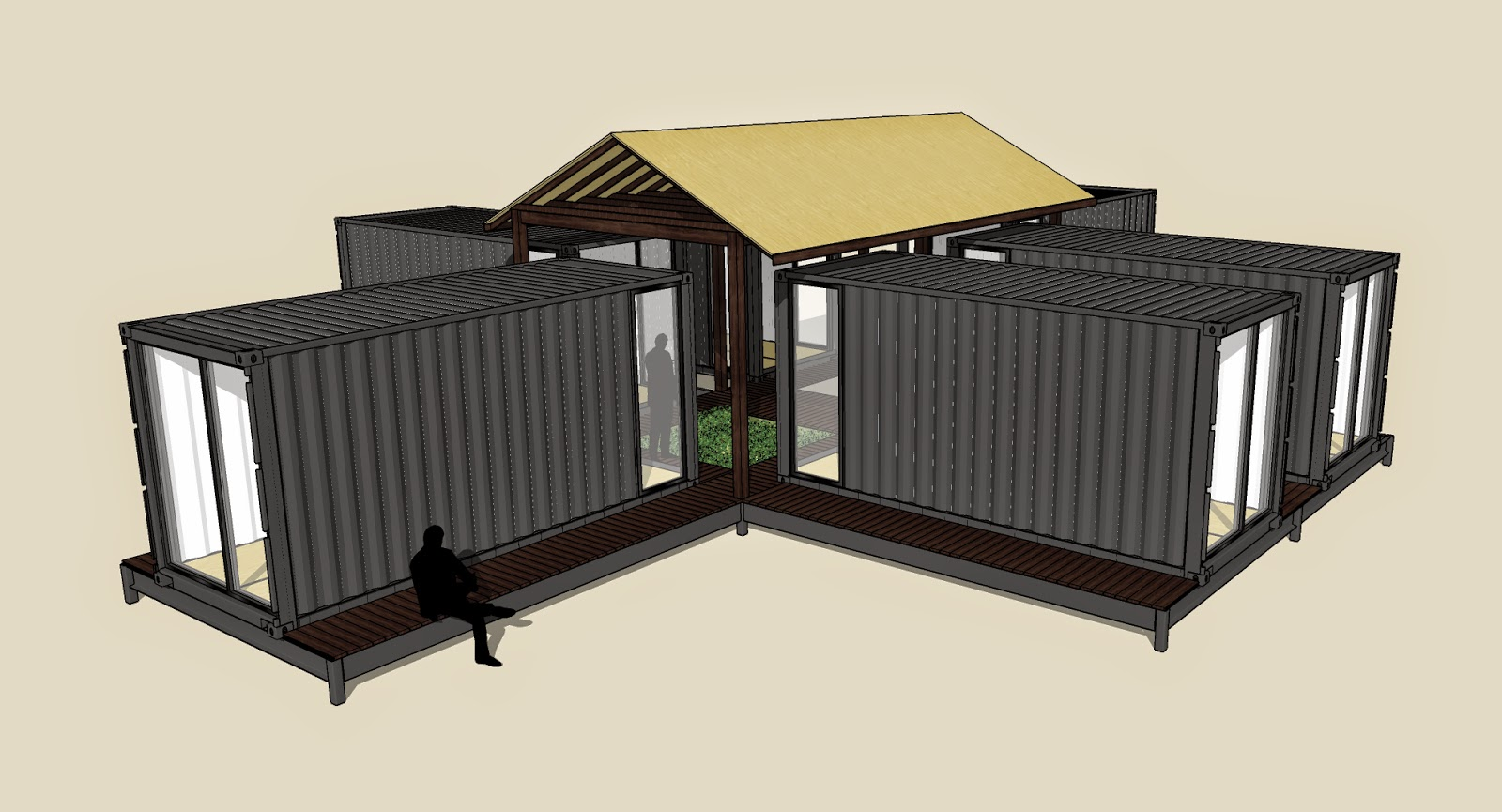 A dog 39 s life in portland oregon working shipping container design - Container homes portland oregon ...
