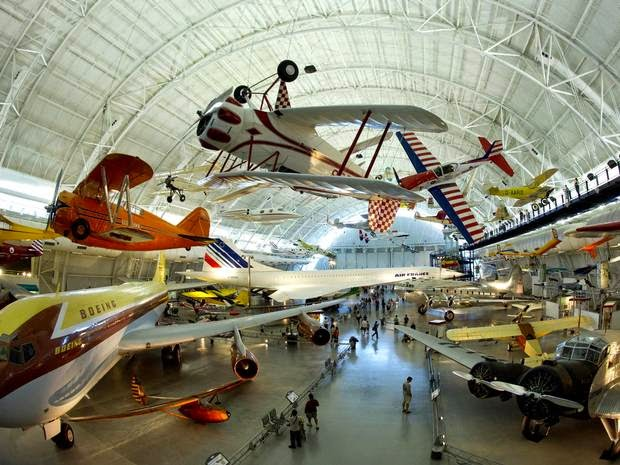 Air and Space Museums: DC and Dulles, VA