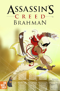 assassins creed brahman graphic novel cover Graphic Novels   Assassin's Creed: Brahman   A New Assassin Is Introduced