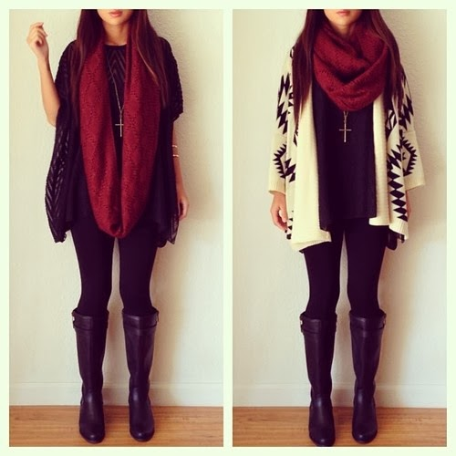 Beautiful freaks winter outfit ideas part one