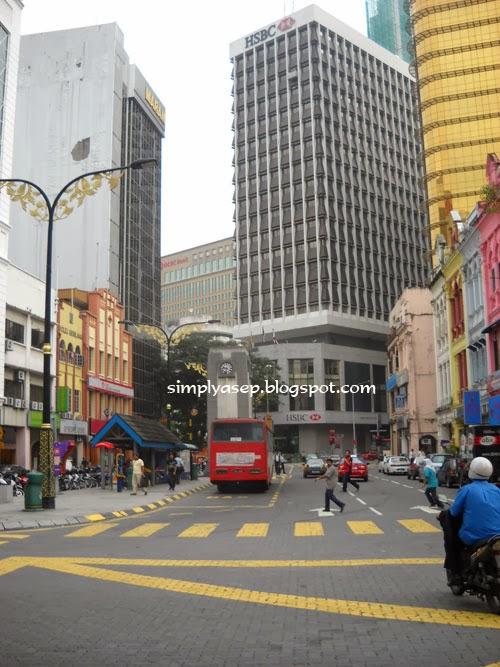 Jalan yang bersih dan Indah di Kuala Lumpur