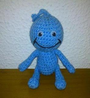 amigurumi, ganchillo, crochet, muñeco