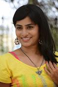 Aparna Glam pics in yellow top-thumbnail-17