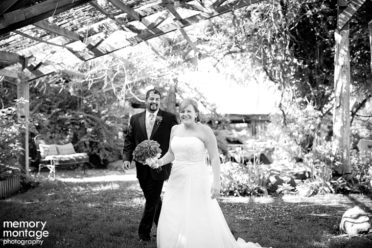 cascade garden wedding