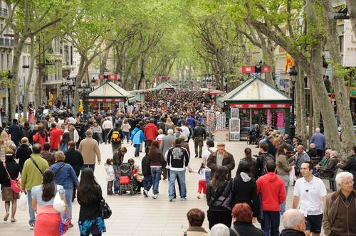 Las ramblas bcn4foreigners - Calle boqueria barcelona ...