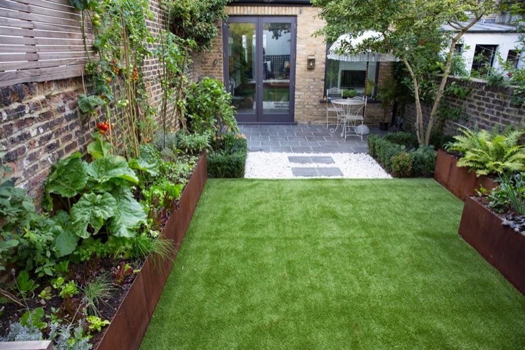 d couvrir l 39 endroit du d cor inspiration et id es pour un jardin en longueur. Black Bedroom Furniture Sets. Home Design Ideas