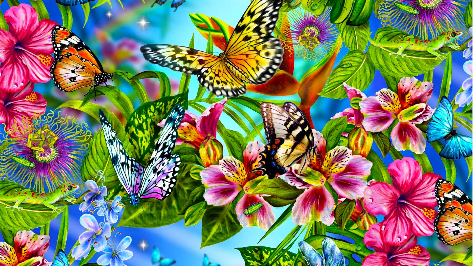 Beautiful Butterfly Wallpapers