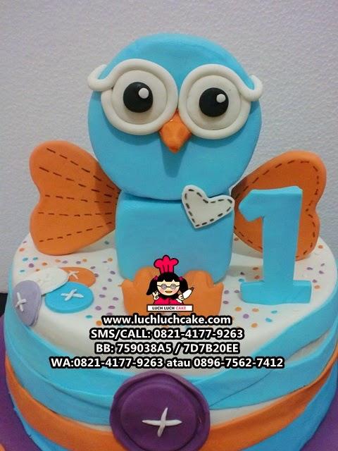 Kue Tart Burung Hantu Giggle and Hoot Daerah Surabaya - Sidoarjo