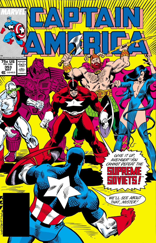 Captain America (1968) Issue #353 #285 - English 1
