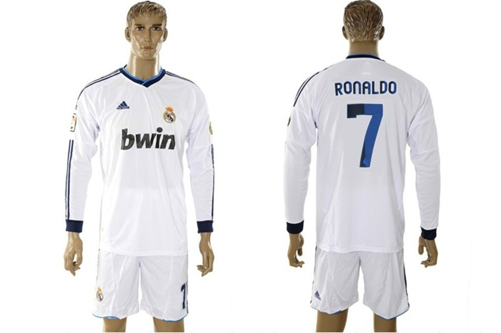 Camiseta Manga Larga del Real Madrid para la temporada 2012-2013.