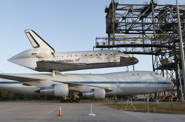 Discovery's Space Shuttle