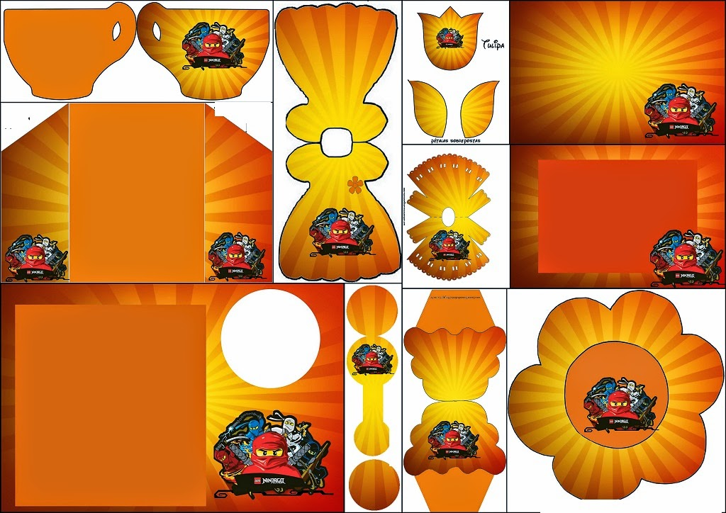 Ninjago Invitations with awesome invitations layout