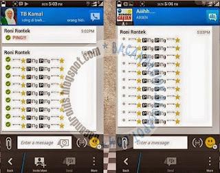 Free Download BBM Mod Fitur AutoText Apk 2.8.0.21