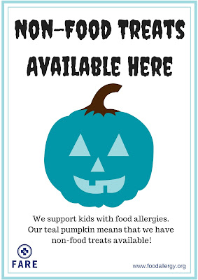 http://www.foodallergy.org/teal-pumpkin-project#.ViakDiu1Nyo