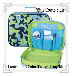 Travel TrayKit, Content and Calm, travel bag, luggage, childrens bags