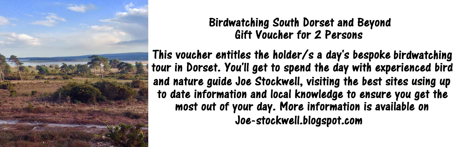 Gift Vouchers Available - Email for details