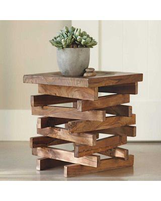 mesinha reutilize madeira