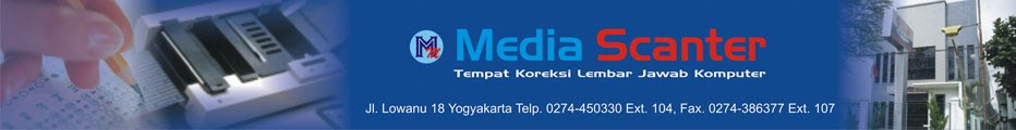 Media Scanter - Pusat Koreksi Lembar Jawab Komputer