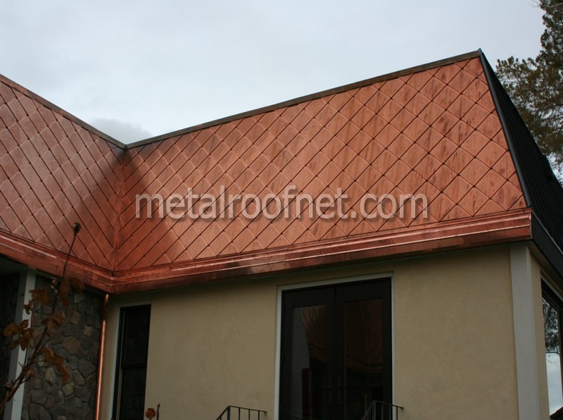 Copper Roofing Gorgeous Copper And Steel Mansard Roof In Reno Nv