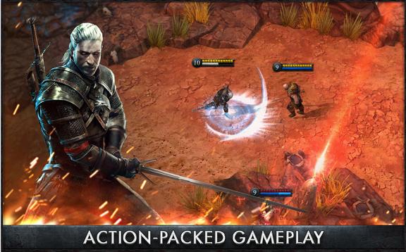 The Witcher Battle Arena v1.0.4 APK [unlocked]
