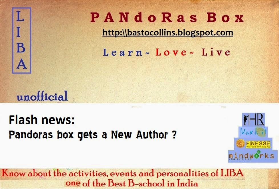 PANdoRas Box - LIBA - Unoffical blog