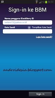 BlackBerry Messenger Android bbm