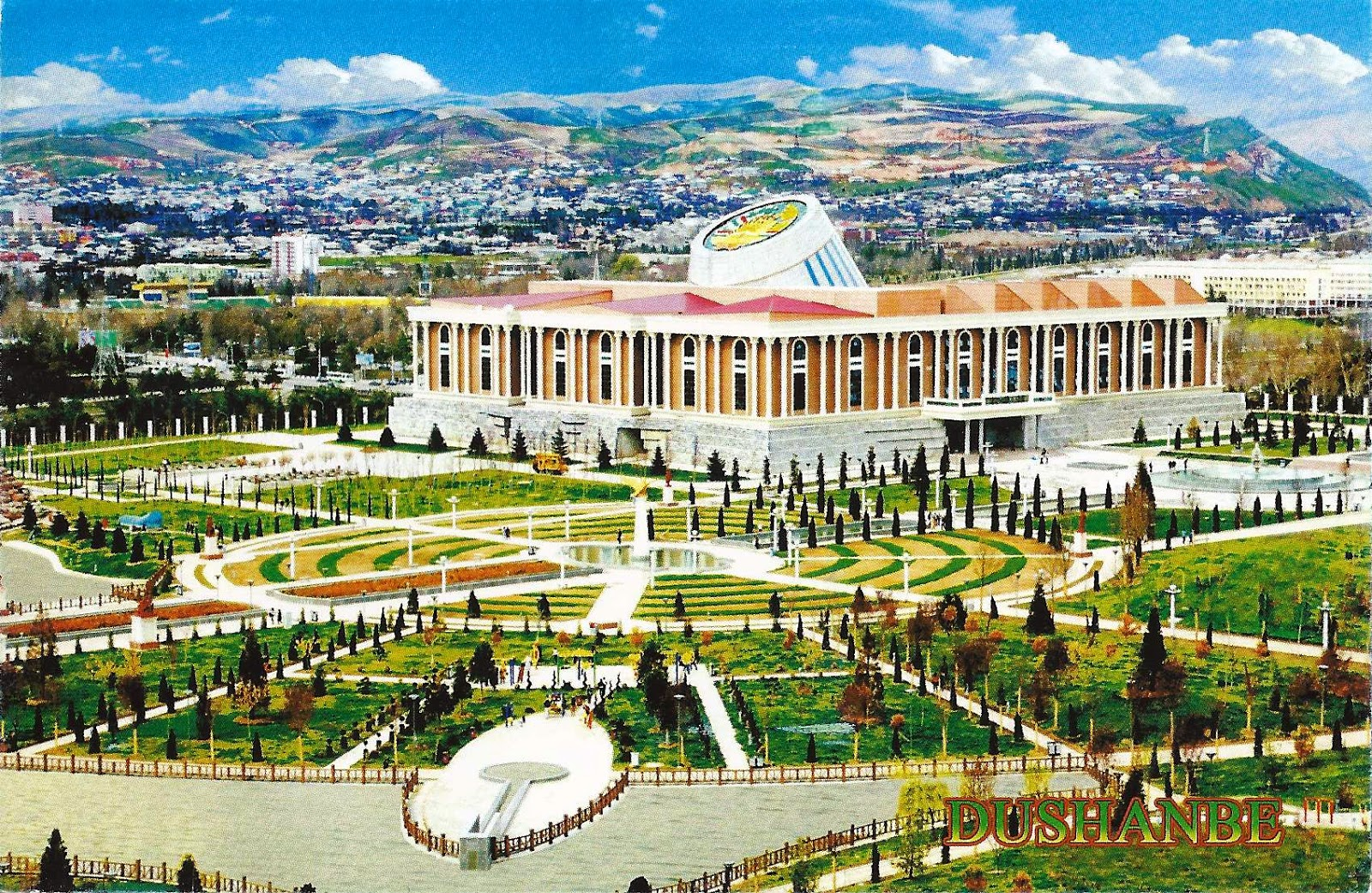 Tajikistan. Cities of the republic and their list