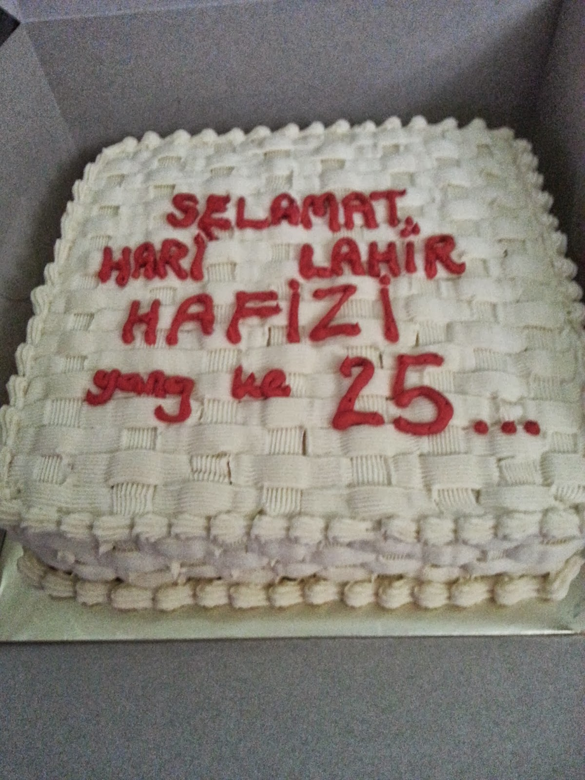 Cake Images With Name Hari : Bakerlicious Cupcakery: Selamat hari raya aidiladha