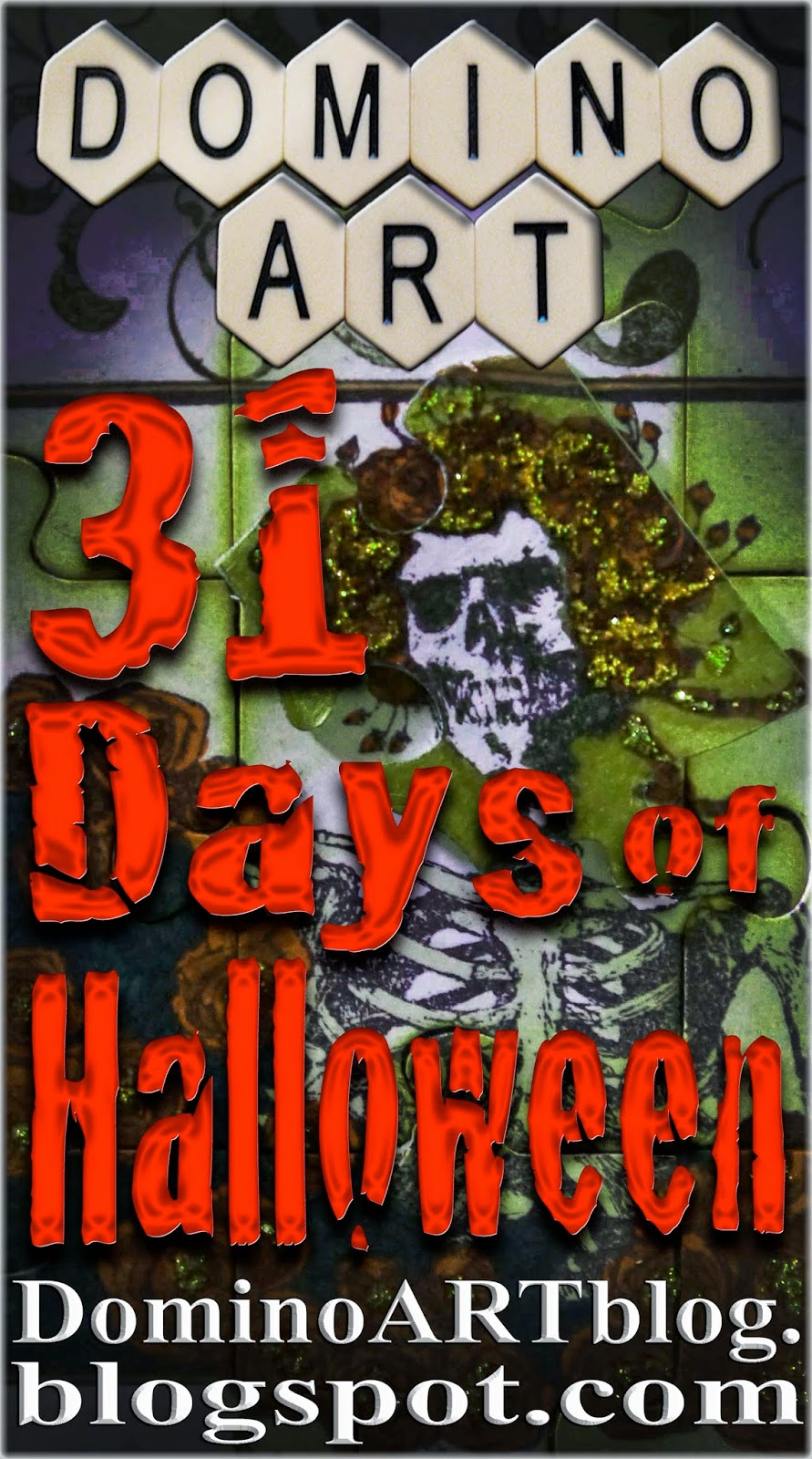 Voting Starts Oct 29 for DominoART's 31 Days of Halloween!