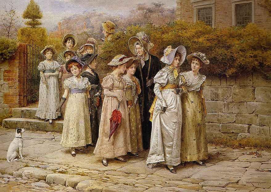 Bumble Button Free Jane Austen Regency Fashion Costume