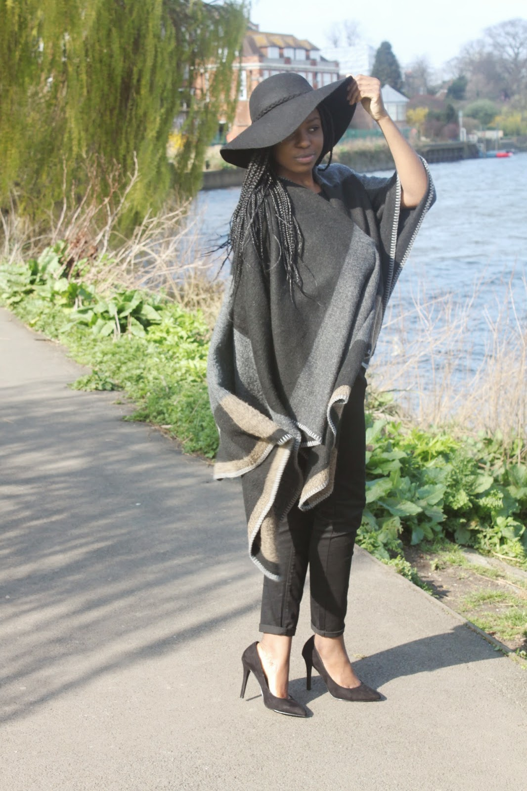 Set Apart Style - Modest styling a poncho