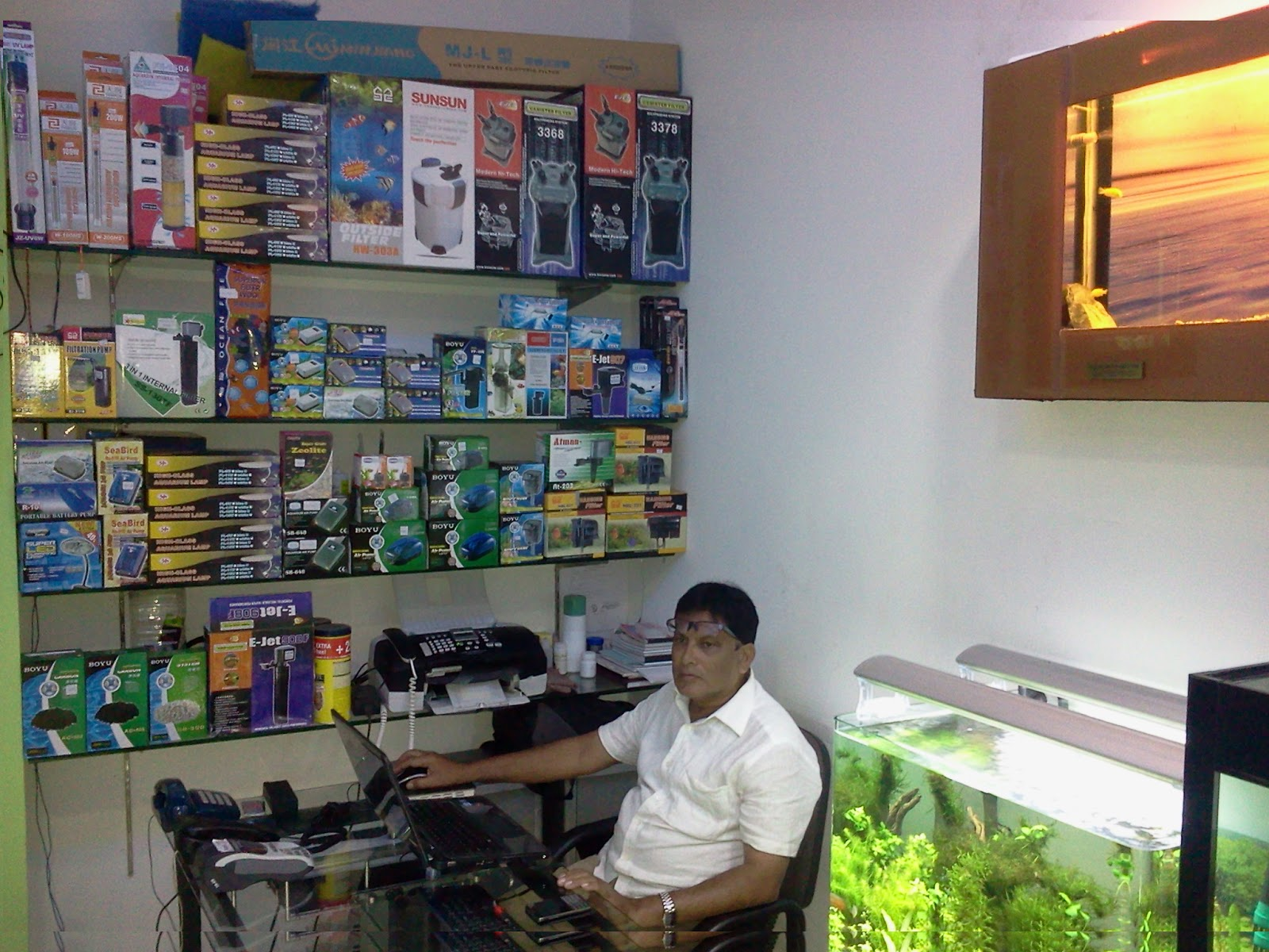 Aquarium fish tank in chennai - Aquarium Design India